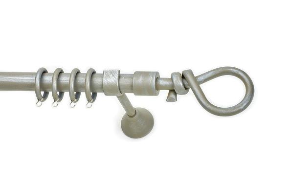 Σφυρήλατο Κουρτινόξυλο ARIEL (MC) Φ25 25360